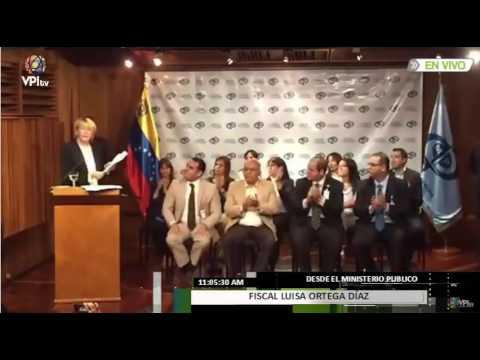 Declaraciones de la Fiscal General Luisa Ortega Díaz #4Julio