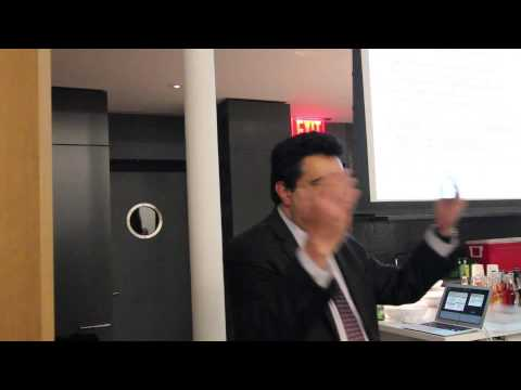 New York Algorithmic Trading Meetup with Dr. Ahmad Namini