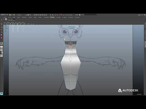 Maya LT Advanced Training: Character Modeling -- Part 1