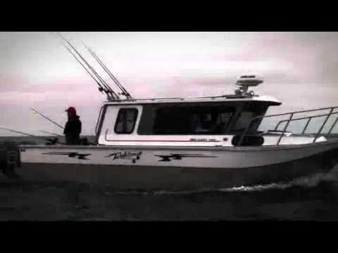 Cuddy King Welded Aluminum Ocean Fishing Boats By
