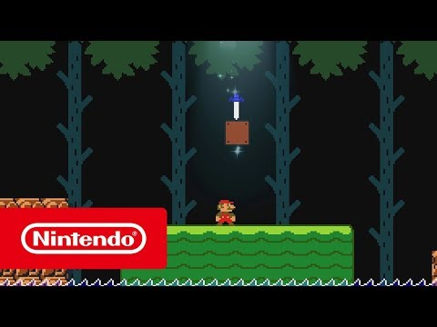 Super Mario Maker 2 - The Master Sword, new course parts and more! (Nintendo Switch)