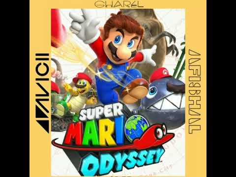 Avicii - Without You Ft. Sandro Cavazza (AFISHAL Remix)  Super Mario Odyssey