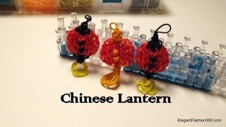 Rainbow Loom Chinese/Paper Lantern Charm - How to