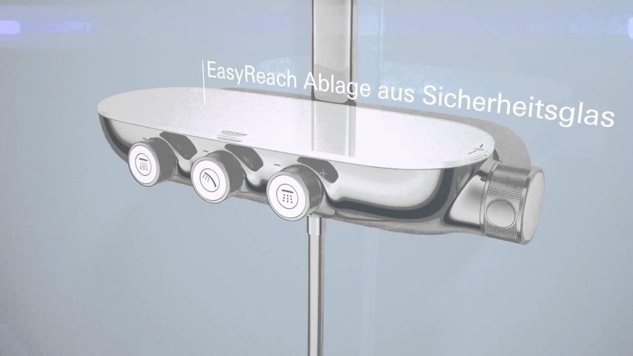 grohe rainshower system smartcontrol 360 duo ab 748 49. Black Bedroom Furniture Sets. Home Design Ideas