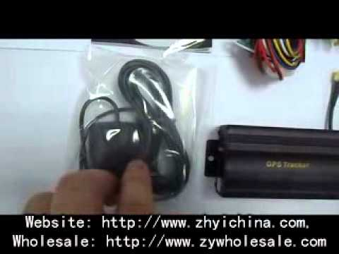 Tk-103 Gps Gprs Gsm Tracker For Car Vehicle Cut Off Oil engine From Zhyichina video