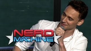 Highlights: Conversation with Tom Hiddleston - Nerd HQ (2013) HD