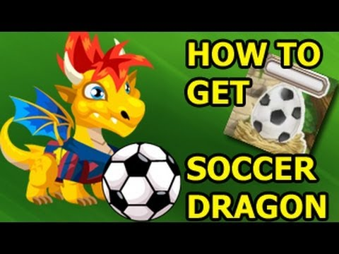 EASY How To Get SOCCER DRAGON in Dragon City so you can Level Up Fast