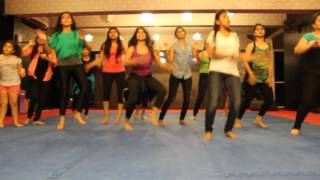 YO YO HONEY SINGH- ZUMBA CHOREO ON HIGH HEELS SONG BY RITU'S DANCE STUDIO, SURAT.