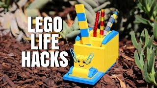 LEGO LIFE HACKS - Easy DIY LEGO Ideas - It's a LEGO Life