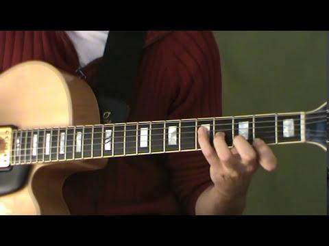 Clases Guitarra Jazz - Modo Dórico de Am:  Arpegio y super-estructura