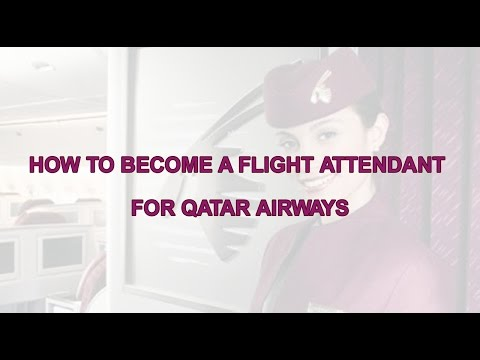 How to become a flight attendant for Qatar Airways