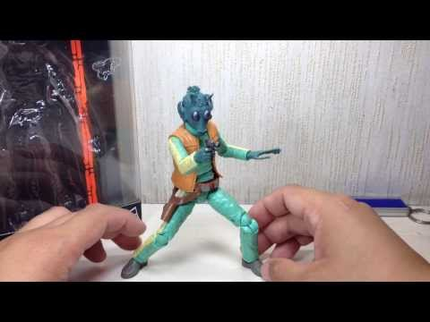 Greedo Star Wars Black Series 6 inch Toy Review