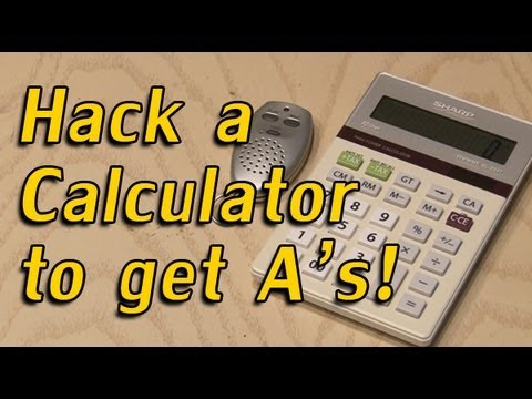 Hack a Calculator to get A s!