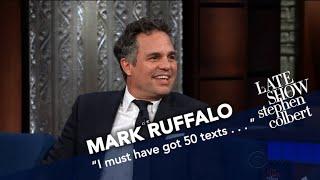 Mark Ruffalo Live-Streamed An Early