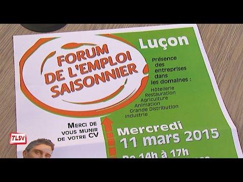 Luçon : le forum de l'emploi saisonnier le 11 mars