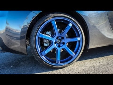 Car Noob Ep. 5 - Plastidip Revisited [Custom Metallic Blue Color]