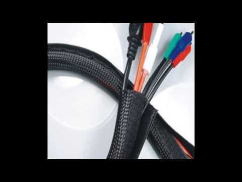 Velcro Braided Cable Flexo Wrap Sleeving Hook & Loop