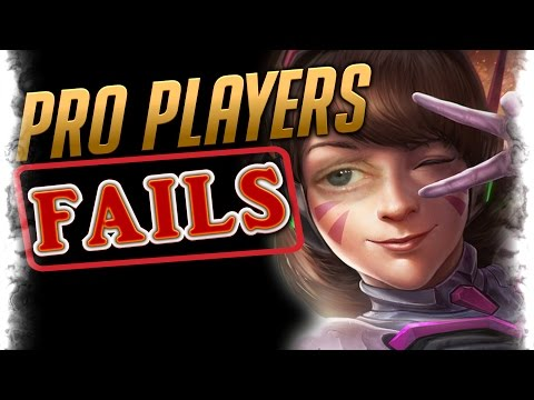 Best Players FAILING Montage | Overwatch Pro Player Fail Moments