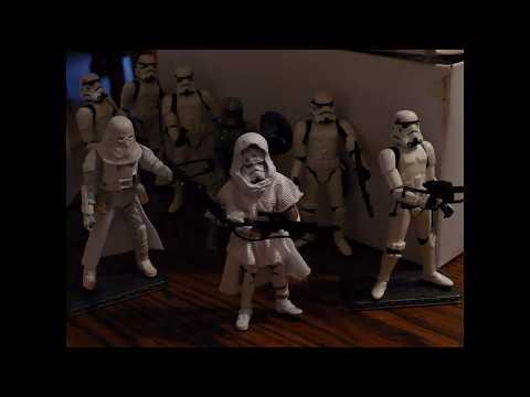Star Wars: Clones vs. Storms (Stop motion Battle)