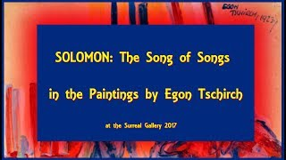 ☼ Solomon: The Song of Songs in the paintings by Egon Tschirch