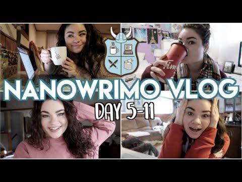 NANOWRIMO WEEK 2 | Writing Vlog November 5-11
