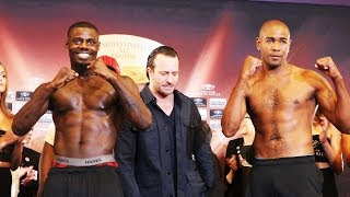 Yuniel Dorticos vs Andrew Tabiti WEIGH-IN | WBSS LATVIA