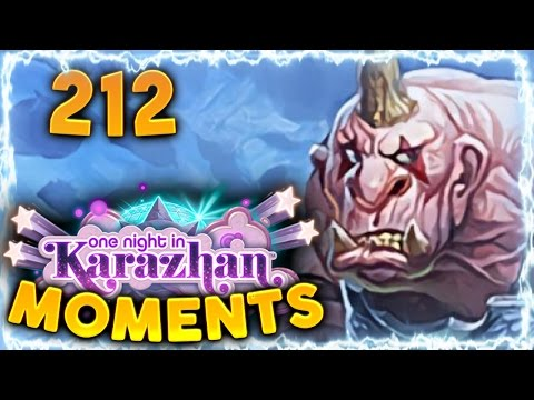 Hearthstone Karazhan Daily Funny and Lucky Moments Ep. 212   Mogor's Champion Combo!!
