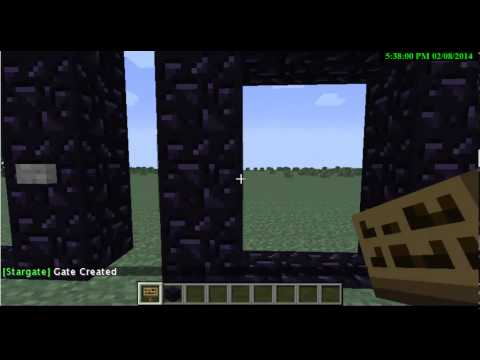 Minecraft 1.7.2 วิธีทำประตูวาป