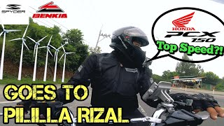 INDEPENDENCE DAY RIDE TO MARILAQUE/ HONDA PCX WITH YAMAHA TMAX NMAX FZ16 RIDE