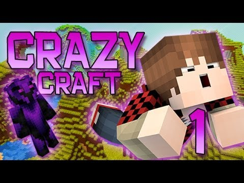 Minecraft: Crazy Craft Modded Survival Playthrough w/Mitch! Ep. 1 - HOW TO TRANS
