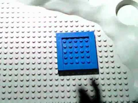 How to build a Lego set of Dr. Who's Tardis