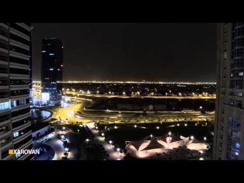 Dubai Lightning - Timelaps