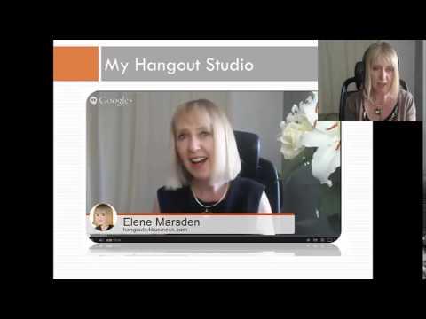 Google Hangouts 101 with Elene Marsden