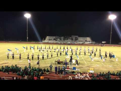 Hueytown High School Band Halftime Oct. 3, 2014