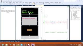 Create App & Navigation Windows Phone 8