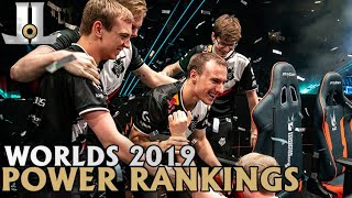 #Worlds2019 Power Rankings: #24 - 1 | LoL World Championship