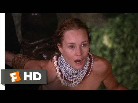 King Kong (39) Movie CLIP - Showering Dwan (1976) HD