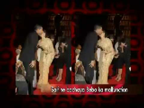Amitabh Bachchan runs away from rekha Video