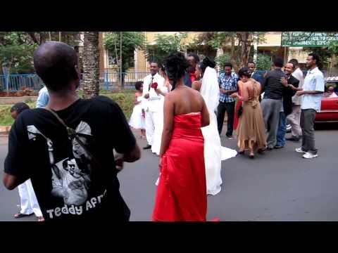 Nile Project runs into a wedding near Lake Tana, Ethiopia