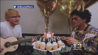 Download Lagu Ed Sheeran Sings Bruno Mars Happy Birthday Gratis STAFABAND