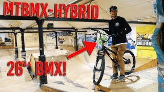THE MTBMX HYBRID BIKE! (MTB + BMX Handlebar)