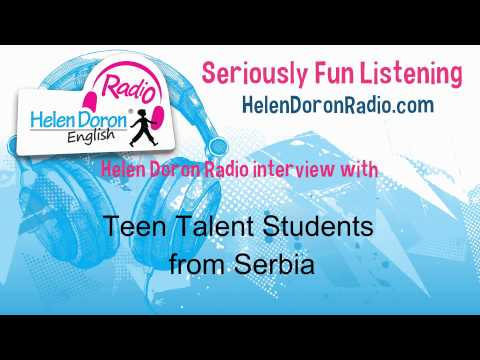 Interview with Teen Talent Students from Serbia