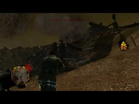 Red Faction Guerrilla singleplayer - Taking down high important buildings - part 2