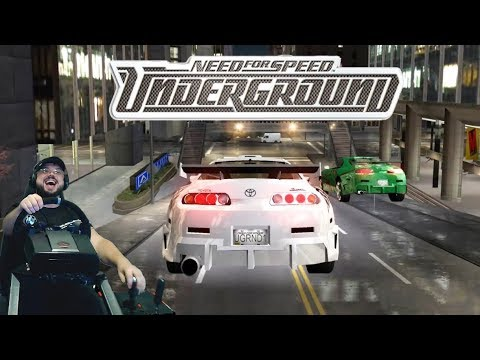 Характерная Супра и потный турнир против трио S2000 в Need for Speed: Underground