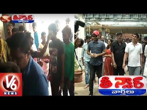 Dil Raju Promotes 'Srinivasa Kalyanam' Movie In Variety Style | Teenmaar News | V6 News