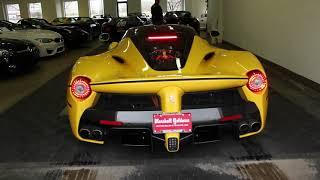 2015 Ferrari La Ferrari Tour and Start Up