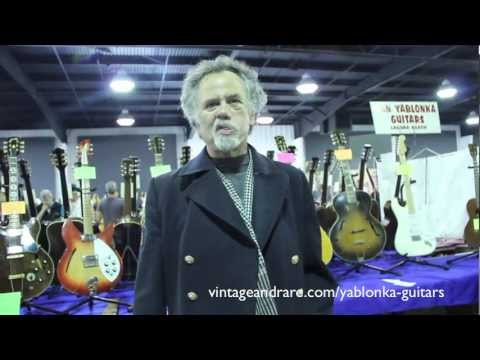 Dan Yablonka Guitars / Orange County Guitar Show 2011 / Vintage&RareTV