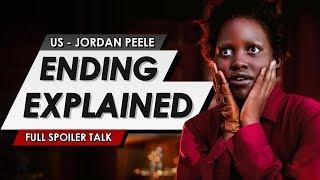 Us Ending Explained | Full Twist Spoiler Talk Review & Things You Missed In The Jordan Peele Horror