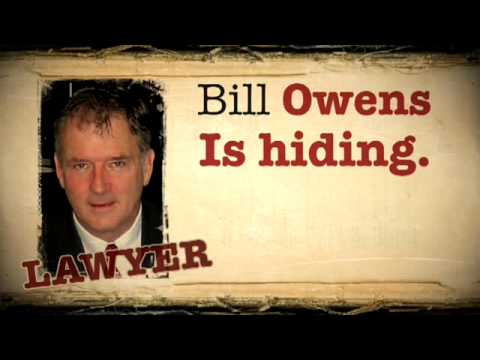 Bill Owens Is Hiding