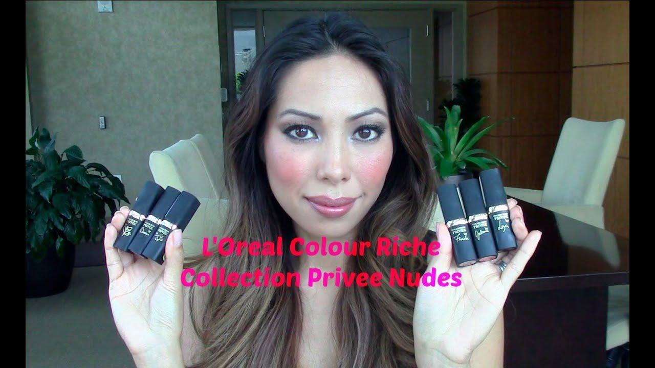 L'oreal Collection Privee Colour Riche Lipstick L'oreal Colour Riche